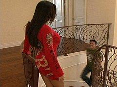 Rachel Starr seducing her friend's brother