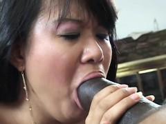 Aziatisch, Pijpbeurt, Hondjeshouding, Harig, Interraciaal, Japaans