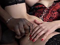 Beauté, Noire, Tir de sperme, Noir ébène, Hard, Interracial, Mère que j'aimerais baiser, Criant