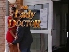 Arzt, Frau, Vintage