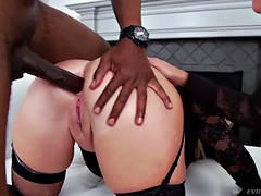 Lusty MILFs Get Their Asses Filled With Black Cock