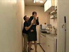 Fetisch, Japanische massage, Büro