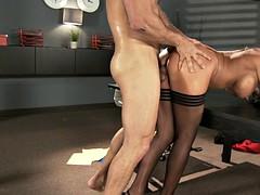 big-tittied porno star nikki sexx enjoy the pumping motion of the hard cock