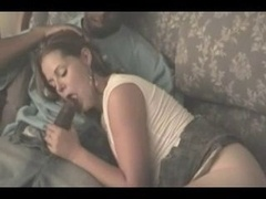 White wife gets down and dirty bbc in front of hubby