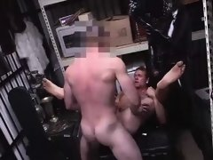 Pawnshop employee enjoys threesome