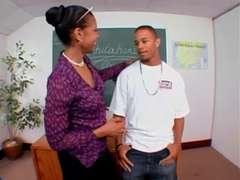 Big Ebony Booty Sack Teacher Ms.Semmie Savanna