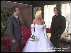Wedding 3some With Squirt
