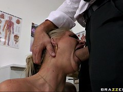 phoenix marie getting her throat fucked by a huge thick shlong