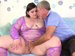 Sexy plumper Sapphire Rose fucked good