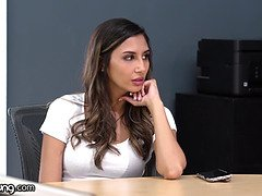 Webyoung Gianna Dior bland work day gets insane wet