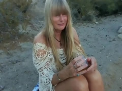 blonde granny hot outdoor kinky sex