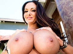 Busty MILF Ava Addams helps her younger friend to cum quicker
