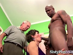 Mature hoe screwed by a black man
