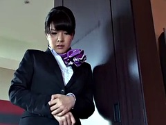 japanese boss selects the most sexy hostess