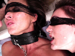 Aubrey Black and her step daughter Ana Rose become sex slaves