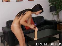impossible bbw mandy majestic in her first hardcore scene nothing tell keep