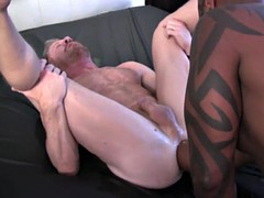 hot gay double fisting with cumshot