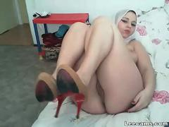 Arabe, Gode, Solo, Adolescente, Webcam